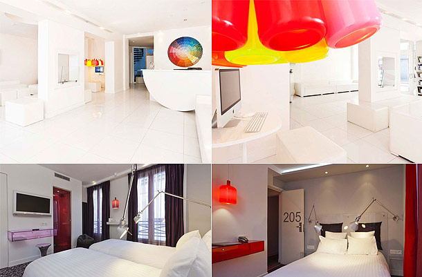 Color design hotel for Color design hotel paris