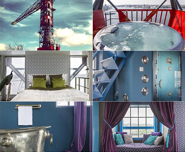 Faralda crane hotel amsterdam for Pool design company radom polen