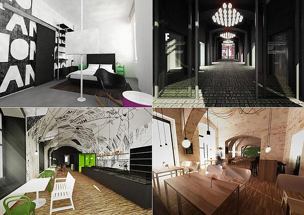 Unique hotels czech republic for Unique accommodation prague