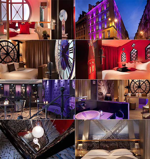 Secret de paris design boutique hotel for Paris secret hotel