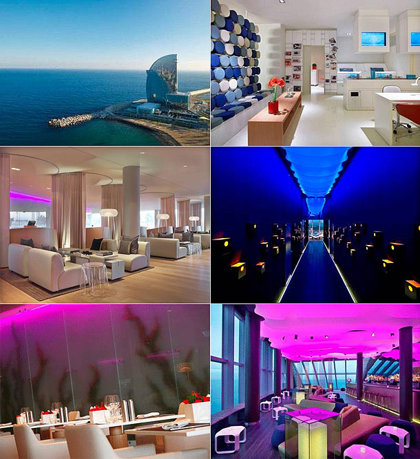 Unique hotels spain for Booking w barcelona